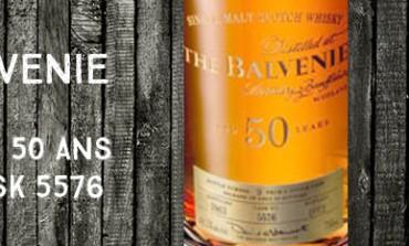 Balvenie fifty - 50y - 1962/2012 - cask 5576 - 44,1% - OB