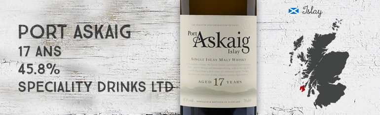 Port Askaig – 17yo – 45,8% – Speciality Drinks Ltd