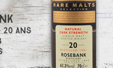 Rosebank - 1981/2002 - 20yo - 62,3% - OB Rare malts