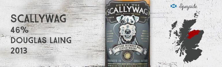 Scallywag – 46 % – Douglas Laing – 2013