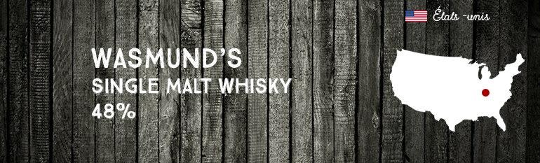 Wasmund's – Single Malt Whisky – 48 % – OB