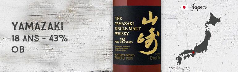 Yamazaki – 18yo – 43% – OB