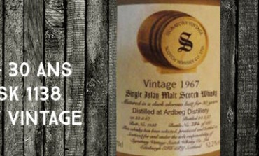 Ardbeg - 1967/1997 - 30yo - 52,2% - Cask 1138 - Signatory Vintage