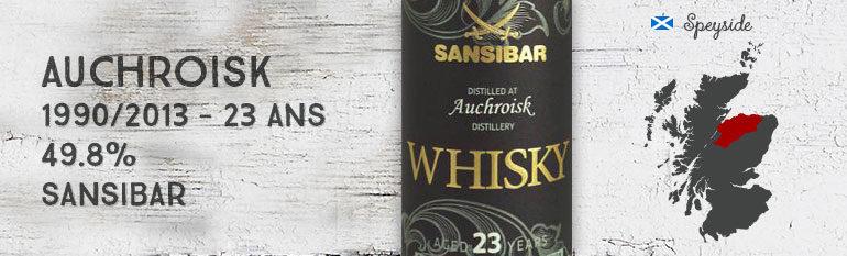 Auchroisk – 1990/2013 – 23yo – 49,8% – Sansibar