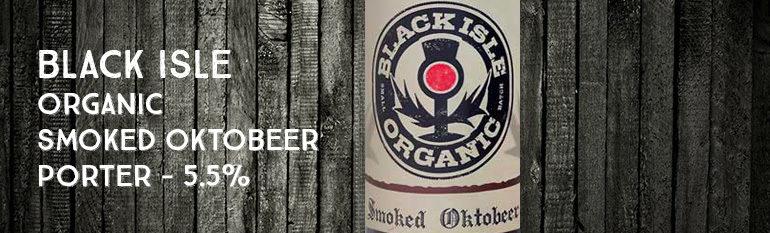 Black Isle – Organic Smoked Porter – 5,5 %