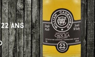Caol Ila - 1991/2013 - 22yo - 46% - Cadenhead