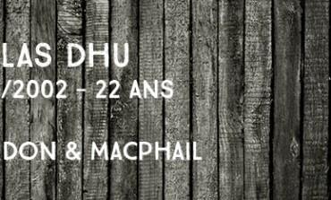 Dallas Dhu - 1980/2002 - 22yo - 40% - Gordon & MacPhail Licensed Bottling