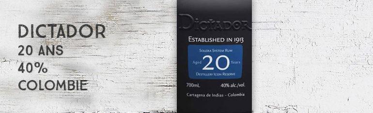 Dictador – 20yo – 40% – Colombie