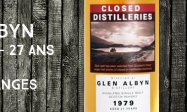 Glen Albyn - 1979/2006 - 27yo - 56% - Part des Anges Closed Distilleries