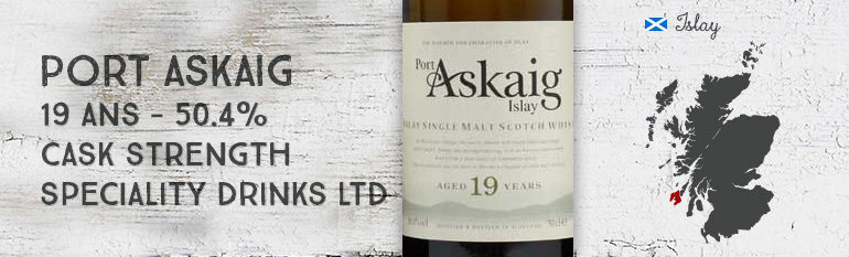 Port Askaig – 19yo – Cask Strength – 50,4% – Speciality Drinks Ltd