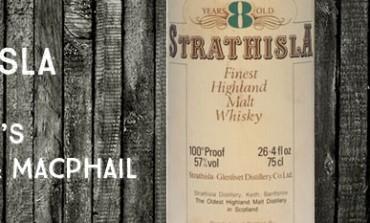 Strathisla - 8yo - 57% - Gordon & MacPhail - 1980's
