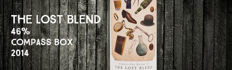 The lost blend – 46% – Compass Box – 2014
