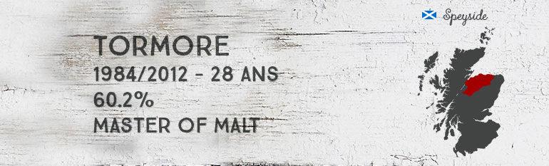 Tormore – 1984/2012 – 28yo – 60,2% – Master of Malt