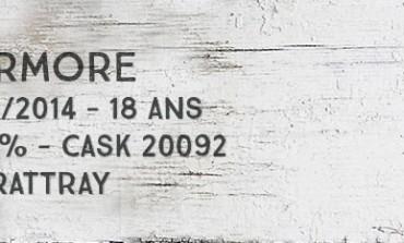 Tormore 1995/2014 - 18yo - 49,8 % - Cask20092 - Dewar Rattray