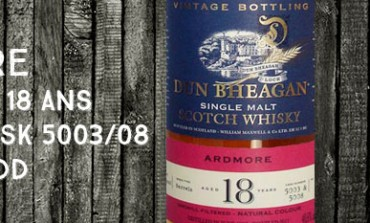 Ardmore - 1992/2011 - 18yo - 48,6% - Cask 5003/5008 - Ian MacLeod Dun Bheagan