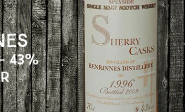Benrinnes - 1996/2009 - 43% - Jean Boyer Best Casks of Scotland