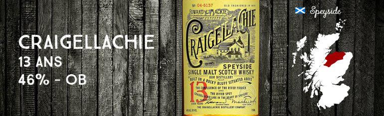 Craigellachie – 13yo – 46% – OB – 2014