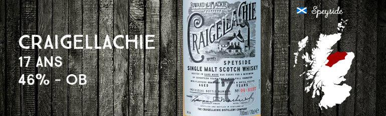Craigellachie – 17yo – 46% – OB – 2014