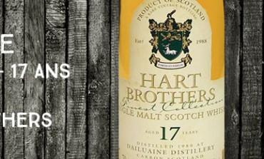 Dailuaine - 1980/1998 - 17yo - 43% - Hart Brothers