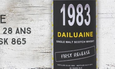 Dailuaine 1983/2012 - 28yo - 47,3 % - cask 865 - Archives