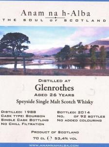 Glenrothes198826yoANHA