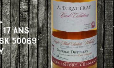 Imperial - 1995/2013 - 17yo - 52,6% - Cask 50069 - A.D. Rattray for Alba Import