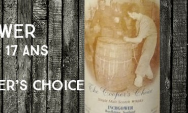 Inchgower - 1978/1995 - 17yo - 50 % - The Vintage Malt Whisky Co Ltd. The Cooper's Choice