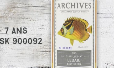 Ledaig - 2005/2013 - 7yo - 62,8 % - Cask 900092 - Archives - The Fishes of Samoa