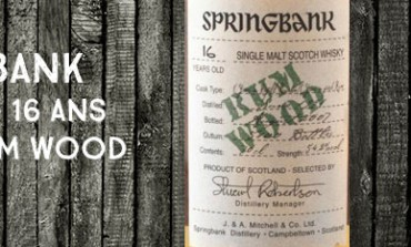 Springbank - 16yo - 1991/2007 - Rum Wood - 54,2%