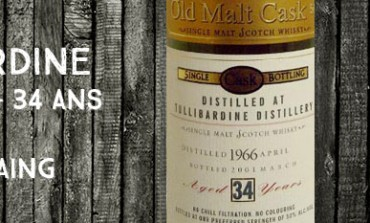 Tullibardine - 1966/2001 - 34yo - 50% - Douglas Laing Old Malt Cask