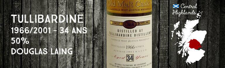 Tullibardine – 1966/2001 – 34yo – 50% – Douglas Laing Old Malt Cask