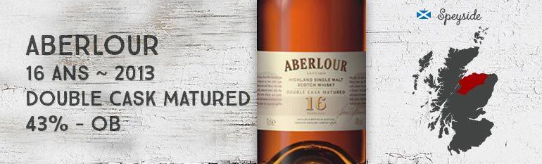 Aberlour 16 years old – 43% – OB – 2013