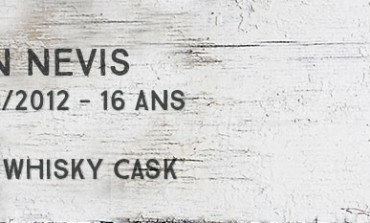 Ben Nevis - 1996/2012 - 16yo - 53% - The Whisky Cask