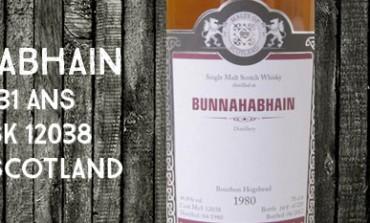 Bunnahabhain - 1980/2012 - 31yo - 46,8% - Cask 12038 - Malts of Scotland