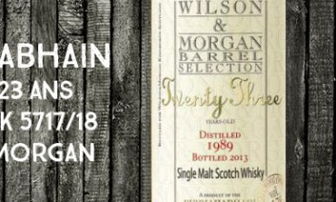 Bunnahabhain - Twenty Three - 1989/2013 - 23yo - 45,7% - Cask 5817/18 - Wilson & Morgan