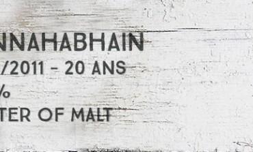 Bunnahabhain 1990/2011 - 20yo - 54,1% - Master of Malt