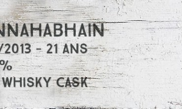 Bunnahabhain - 1991/2013 - 21yo - 48,6% - The Whisky Cask