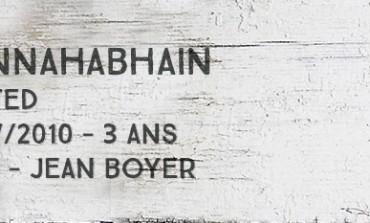 Bunnahabhain peated 2007/2010 - 3yo - 43% - Jean Boyer Le puits à Whisky