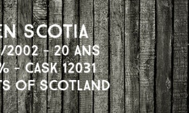 Glen Scotia - 1992/2012 - 20yo - 51,9 % - Cask MoS 12031 - Malts of Scotland Sherry Hogshead