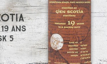 Glen Scotia - 1992/2011 - 19yo - 51,8% - Cask  5 - Kintra Whisky Sherry Butt