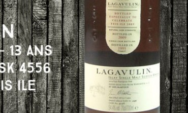 Lagavulin - 1995/2009 - 13yo - 54,4% - cask 4556 - OB Feis Ile