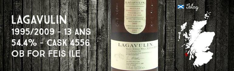 Lagavulin – 1995/2009 – 13yo – 54,4% – cask 4556 – OB Feis Ile