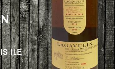 Lagavulin - 1995/2014 - 19yo - 54,7% - OB Feis Ile