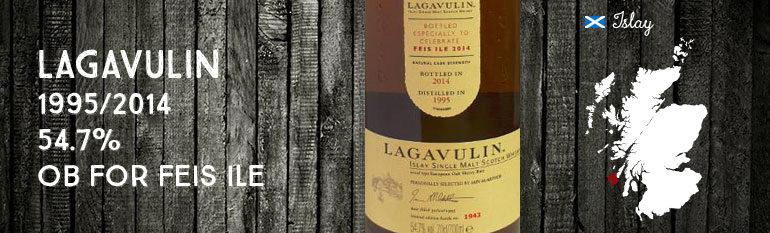 Lagavulin – 1995/2014 – 19yo – 54,7% – OB Feis Ile