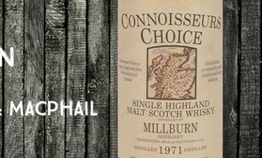 Millburn - 1971 - 40% - Gordon & Macphail Connoisseurs Choice Old Map Label