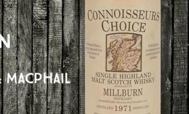 Millburn - 1971 - 40% - Gordon & Macphail Connoisseurs Choice Old Map Label