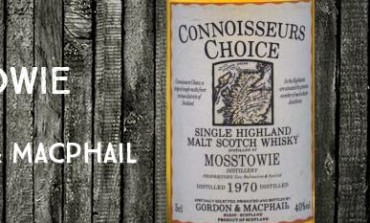 Mosstowie - 1970 - 40% - Gordon & Macphail Connoisseurs Choice Old Map Label
