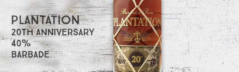 Plantation – 20th Anniversary – Barbade – 40% – 2012