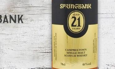 Springbank - 21 yo - 46% - OB - 2013