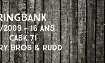 Springbank - 16yo - 1992/2009 - 46% - Cask 71 - Berry Bros & Rudd